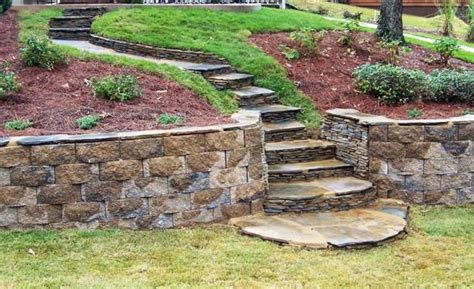 terracing a sloped backyard 25 beautiful hill landscaping ideas and terracing