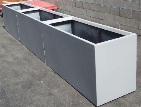 Modern Planters Los Angeles by Roof Top Planters Caddetails