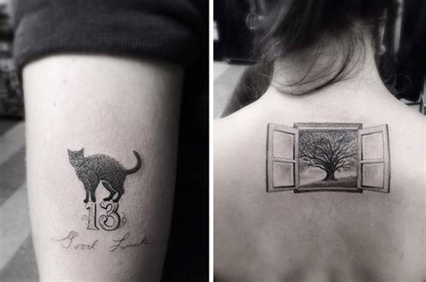 shamrock social club tattoo geometric tattoos by dr woo who s been experimenting with