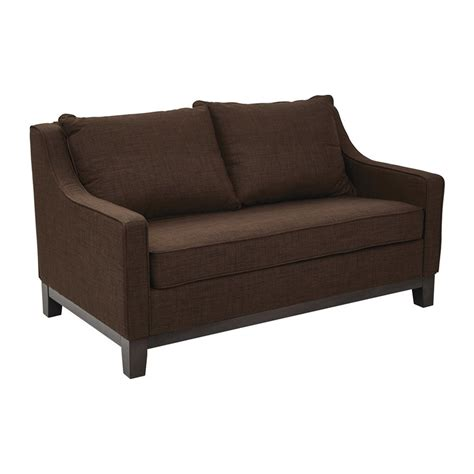 office loveseat shop office star ave six regent casual java loveseat at