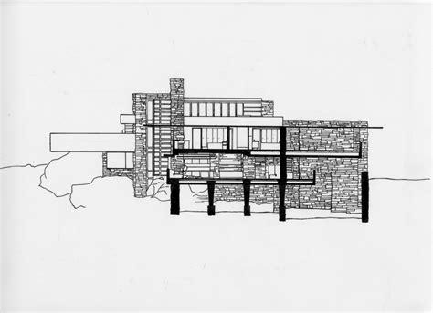 frank lloyd wright falling water floor plan falling water floor plan first free home design ideas images