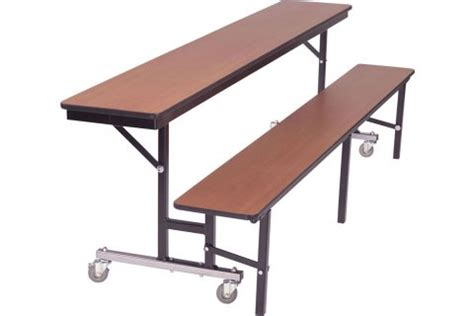 convertible table bench convertible table bench units cafeteria tables