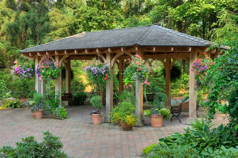 backyard shelter 7 backyard gazebo ideas for sun shade and rain shelter