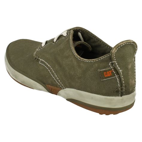 status shoes mens caterpillar casual canvas shoes status canvas p713671