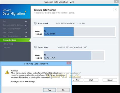 samsung ssd magician and data migration review data migration cont