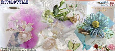 fiori di tulle fai da te fai da te ciuffo di tulle per bomboniere come confezionare