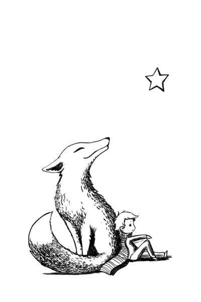 fox, le petit prince …   Iron fence designs.   Littl…