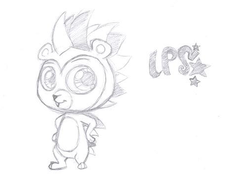 lps russell ferguson toy sketch by rmsaun98722 on