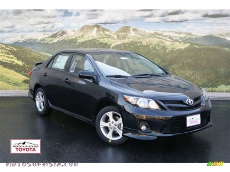 black sand for sale 2011 toyota corolla s in black sand pearl 650258 autos