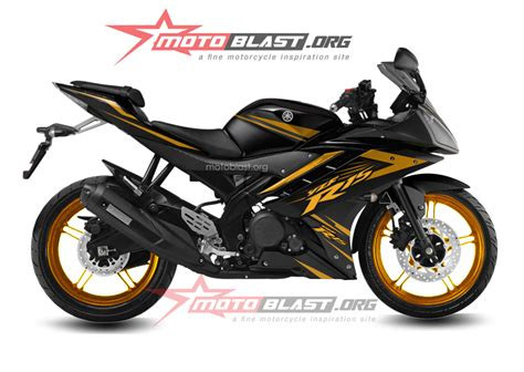 Striping Yamaha Vxion Sunmoon2 1 yamaha r15 black gold1 motoblast