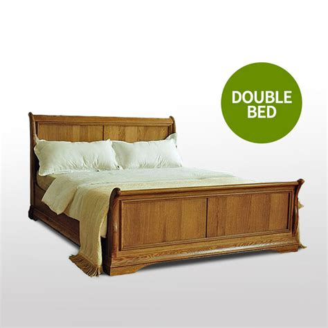 Oak Sleigh Bed 50 Oak Sleigh Bed Loire Style