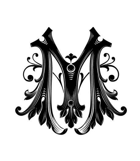 tattoo font letter m m font inspiration showcase to do pinterest