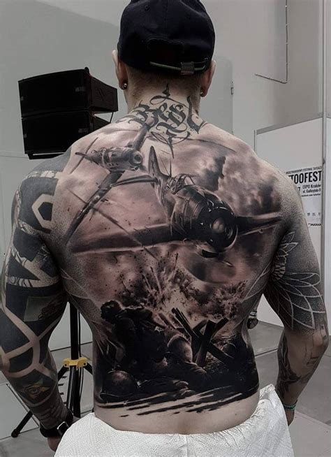 war tattoos war back with fighter planes best design ideas