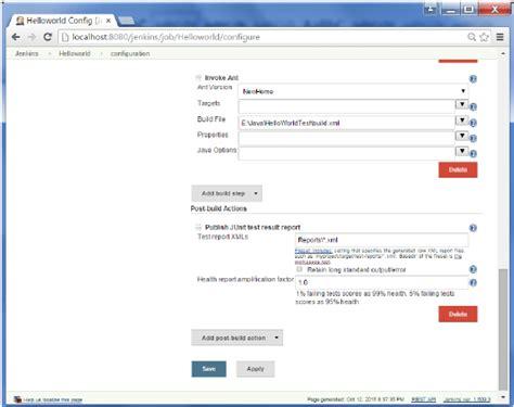 xml reports tutorial devops it help stream