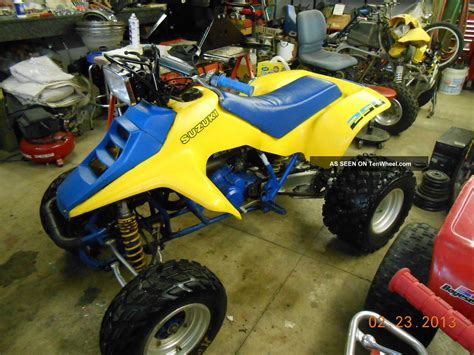 Suzuki Quadracer 250 Parts 1987 Honda 250x 2017 2018 2019 Honda Reviews