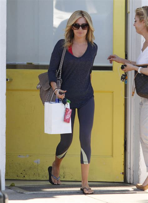 andy lecompte hair salon in west hollywood ashley tisdale at andy lecompte hair salon in west