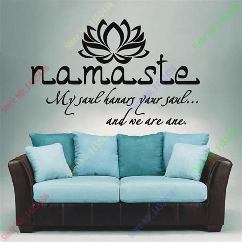 Wall Decal Quotes For Living Room by Wall Decals Quotes Vinyl Sticker Decal Buddha Quote