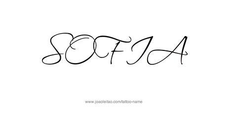 tattoo design ideas for names sofia name designs