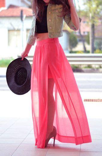 aini maxy orange net wool plated fall net border skirt maxi
