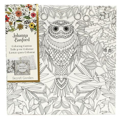coloring canvas johanna basford coloring canvases