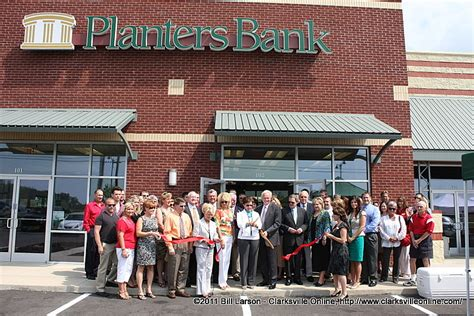 Planters Bank Clarksville by Planters Bank Opens Newest Location On Dunlop