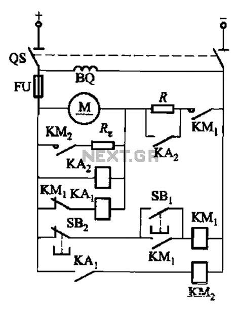 dc motor dynamic braking resistor motor circuit page 6 automation circuits next gr
