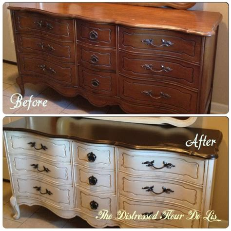 bassett french provincial bedroom furniture before and after on a bassett french provincial dresser it was painted in general