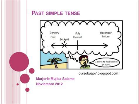 simple past tense past simple tense