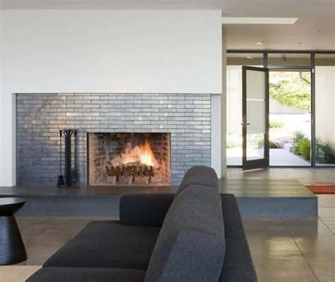 contemporary fireplace tile design ideas 10 contemporary tile fireplaces apartment therapy