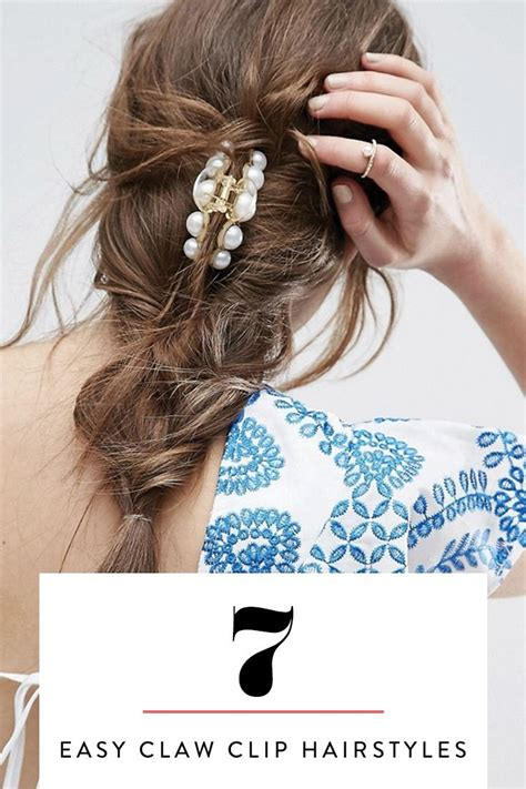 hairstyles easy using claw cls 447 best hairstyle inspiration images on pinterest hair
