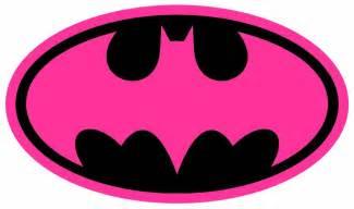 Pink girl batman batgirl halloween or everyday logo iron on transfer