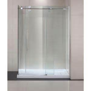 glass shower doors at home depot schon lindsay 60 in x 79 in semi framed shower enclosure