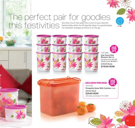 Pink Blossom Set Tupperware tupperware singapore buy tupperware in singapore