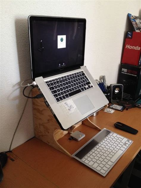 laptop desk with fan best 25 laptop stand ideas on