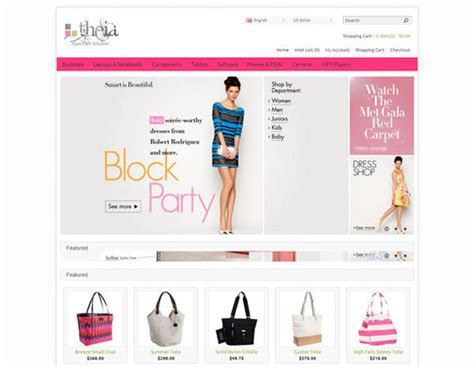 free fashion and beauty opencart themes