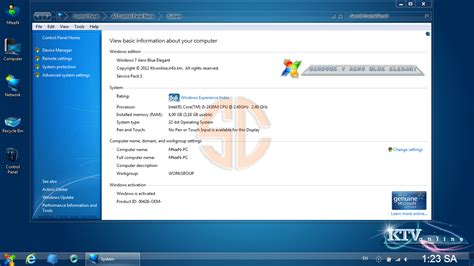 themes windows 7 elegant windows 7 aero blue elegant x86 2012 activated tech a