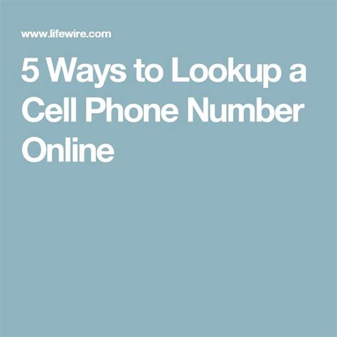 Free Cell Phone Number Lookup Yahoo 1000 Ideas About Cell Phone Directory On