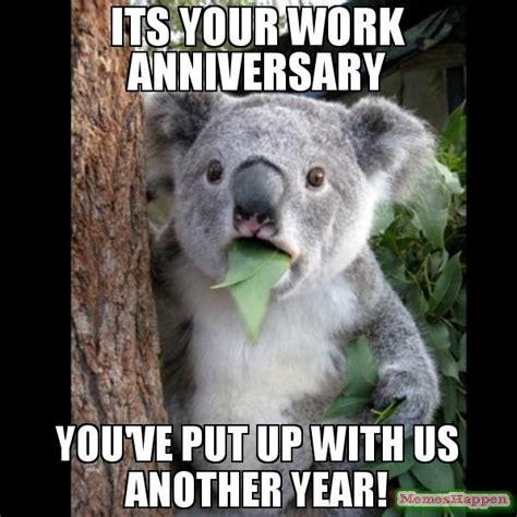 Anniversary Meme - the gallery for gt congratulations work anniversary meme