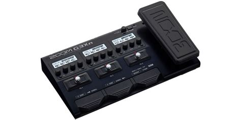 Zoom G3xn Multi Effects With Expression zoom g3xn guitar multi effects processor expression
