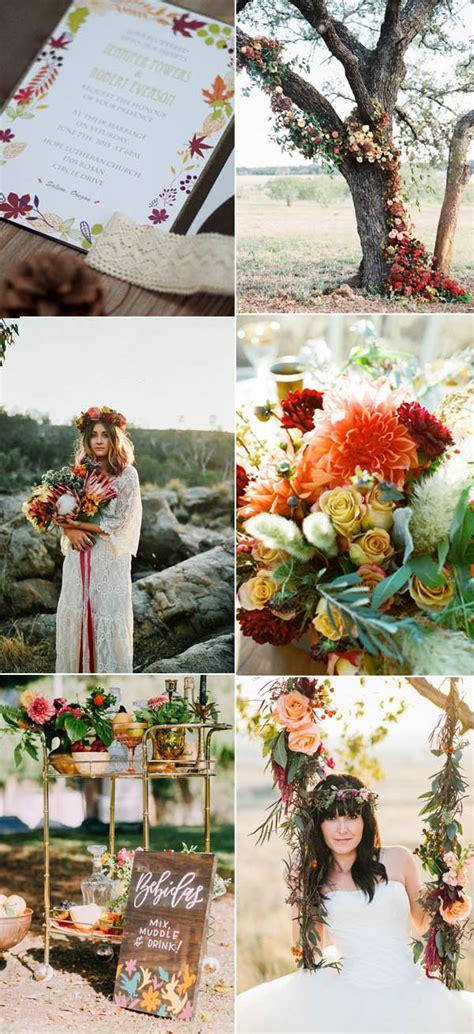 trubridal wedding ten beautiful fall wedding