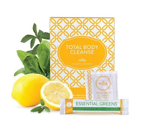 Detox With Mlis by Total Cleanse M Lis Cleanse Skincare By Alana