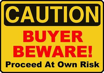 Buyer Beware by Hints For Vertigo Caveat Emptor Calgary Em Journal