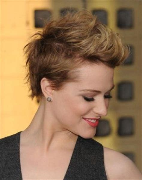 hairstyles for round face dailymotion 10 best images about short professional lesbian haircuts