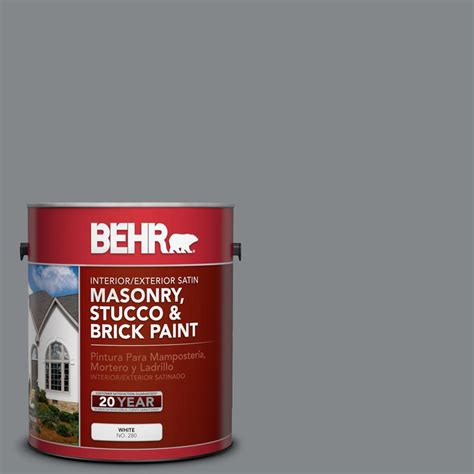 is home depot paint quality behr premium 1 gal ms 84 gray satin interior