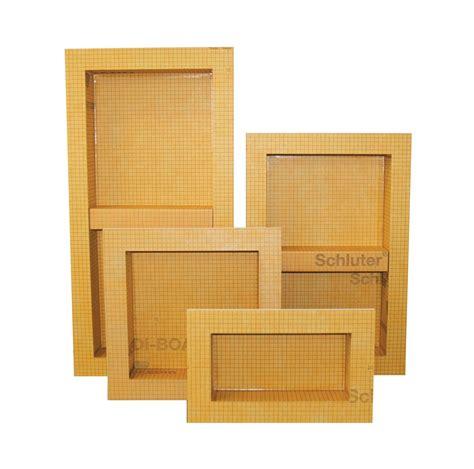prefabricated shower niche improves tile installation schluter com