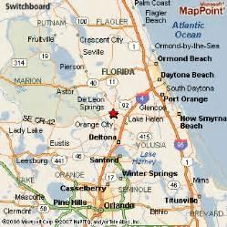 map deland florida deland florida