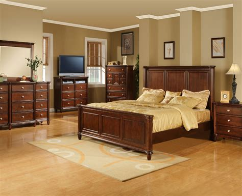 Hamilton Bedroom Furniture Hamilton 5 Pc Bedroom Set Furniture 4 Less Dallas