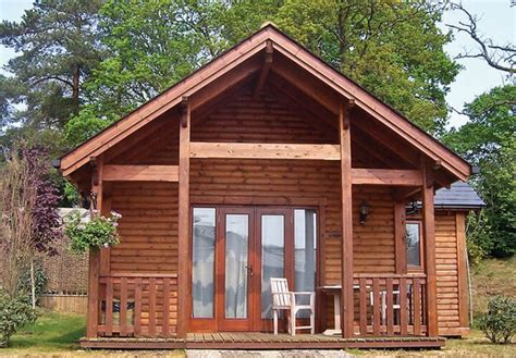 Wooden Log Cabins Holidays by Lodges Log Cabins In Surrey Tilford Woods Lodge Retreat