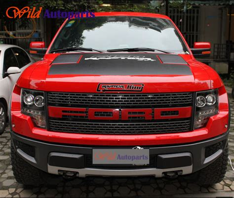 Sticker Raptor Sticker Mobil Ford Ranger Kaca engine grille letters sticker graphics vinyl