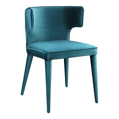 jennaya dining chair teal products moe s wholesale
